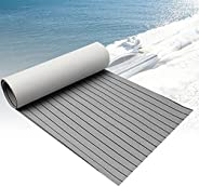 CHURERSHINING EVA Foam Decking Sheet for Boat Yacht Marine Floor Carpet with Self Adhesive Non-Slippery 94.5&q