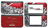 Super Smash Bros 3D Melee Brawl Mario Pikachu Link Zelda Samus Metroid Villager Crimson Red Video Game Vinyl Decal Skin Sticker Cover for the New Nintendo 3DS XL System Console