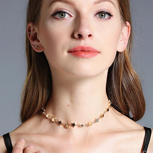 Chicer Cute Star Necklace, Fashion Choker