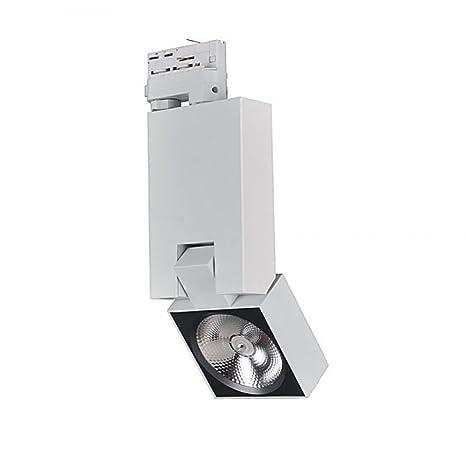 Foco Iluminación cuadro LED riel trifásico Noah CREE 20 W ...