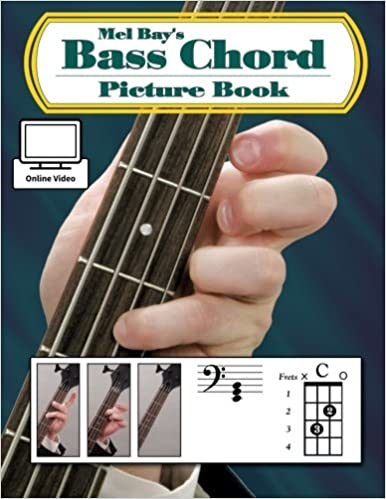 Mel Bay Bass Chord Picture Book: William Bay: 0796279079389: Amazon ...