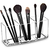 Acrylic Makeup Brush Organizer Holder Clear
