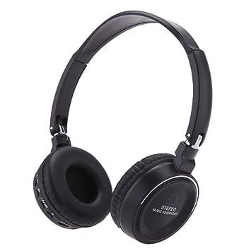 Auricular - SODIAL(R)Inalambrico 3 en 1 Audifono Auricular Bluetooth estereo de multifuncion