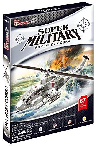 (Mehano 58100–Puzzle AH-1Huey Cobra)