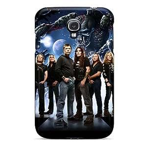 InesWeldon Samsung Galaxy S4 Bumper Cell-phone Hard Cover Customized Fashion Metallica Skin [Wam3848VYRB]