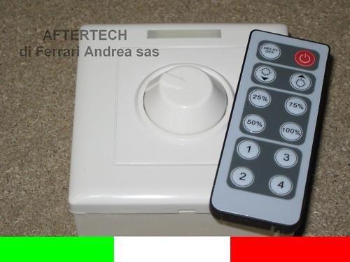 aftertech® aftertech aftertech Regulador 12 V 8 A mando para LED, de integrado con mando A a distancia IR b6d4 780549
