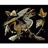 Arts & Crafts : Royal Brush Gold Foil Engraving Art Kit, 8 by 10-Inch, Baby Dragon