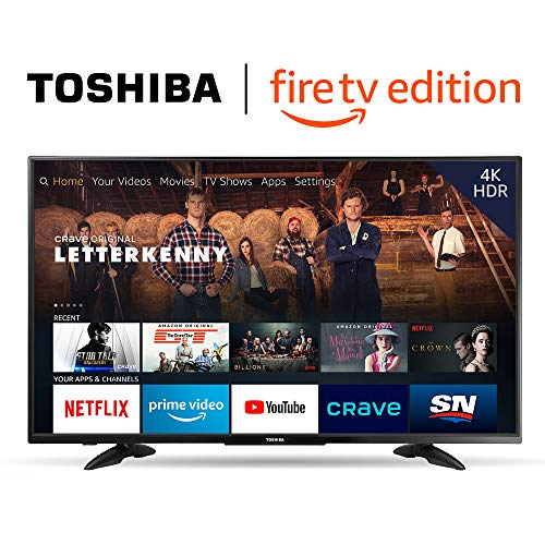 Toshiba 43-inch 4K Ultra HD Smart LED TV with HDR - Fire TV Edition