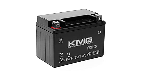 KMG 12V Battery for Honda NC700J 2015 Replacement Battery YTZ12S Sealed Maintenace Free Battery High Performance 12V SMF Replacement Powersport Battery NM4