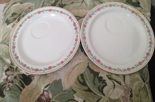 Lamberton Dishes with Pink Flowers Chalfont Haddon for sale  Delivered anywhere in USA