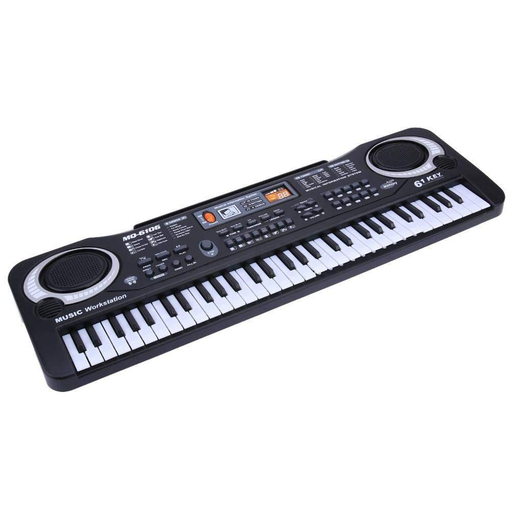 61 Keys Digital Music Electronic Keyboard Key Board Electric Piano Children Gift, US Plug by D.Roc (Image #4)