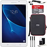 Samsung Galaxy Tab A Lite 7.0'' 8GB Tablet PC (Wi-Fi) White Bundle includes Tablet, 32GB MicroSDHC Memory Card, Sleeve, Earbuds, 3 Stylus Pens and Cleaning Kit
