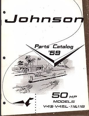 D MOTOR 50 HP PARTS CATALOG MANUAL P/N 377811 (174) (Hp Parts Catalog Manual)