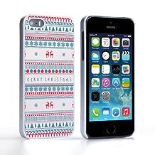 Caseflex iPhone 5 / 5S Case Merry Christmas Reindeer Snowflake Pattern Hard Cover