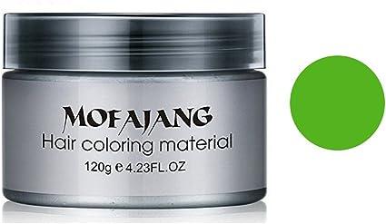 Cera de pelo desechable – Tinte de pelo natural profesional para hombres y mujeres – Cera para el pelo – fácil de lavar/usar (7 colores para elegir)