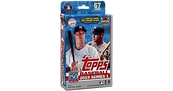 Amazon.com: Hanger Box 2019 Topps - Caja de baseball sellada ...