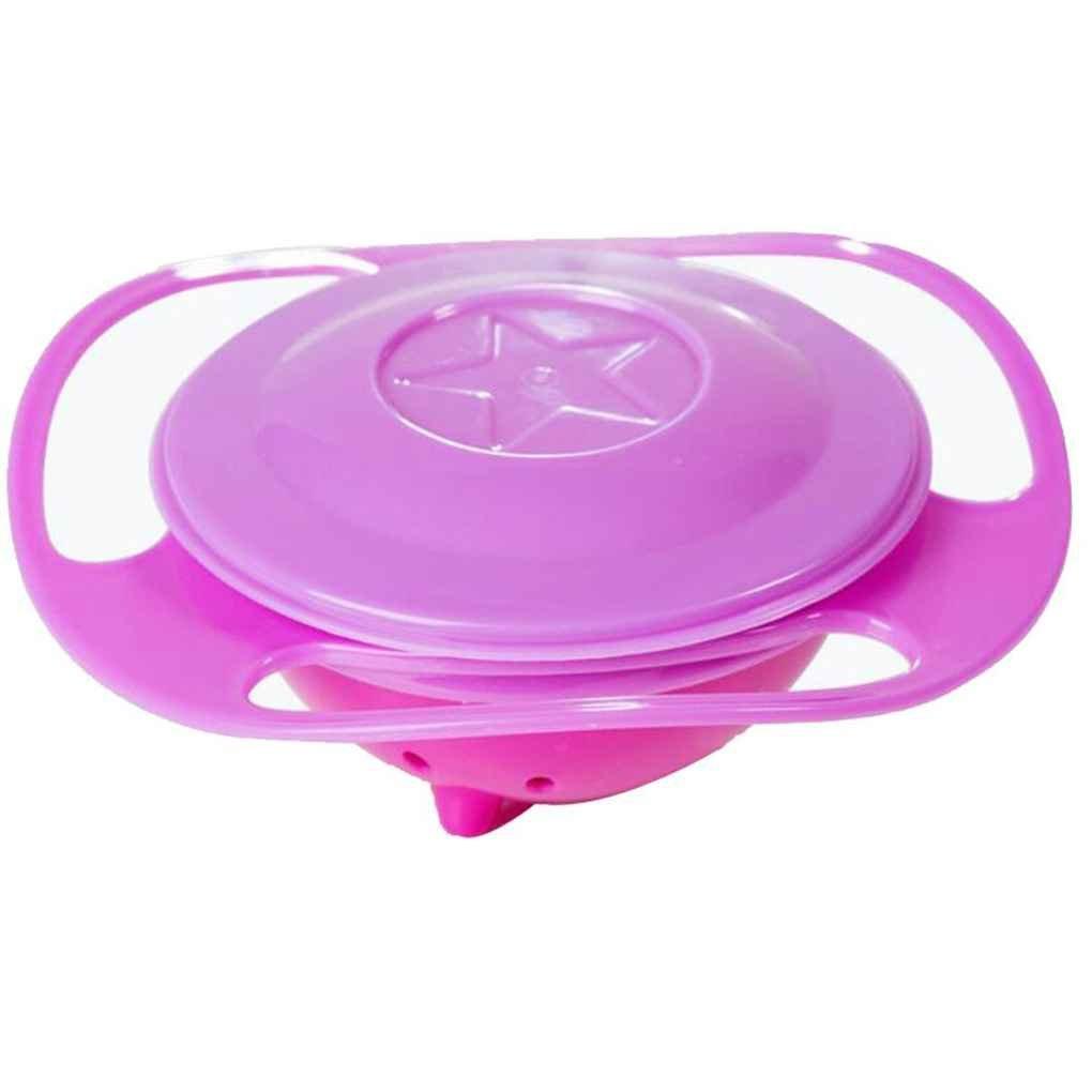 Universal-Gyro Bowl Anti Spill Bowl Glatte 360 Grad Rotation Gyroscopic Sch/üssel f/ür Baby Regard
