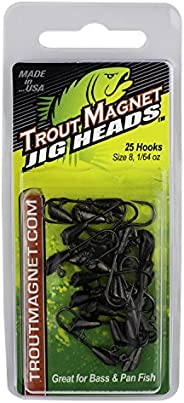 Trout Magnet 25-Piece Jig Heads - Size 8 Hooks