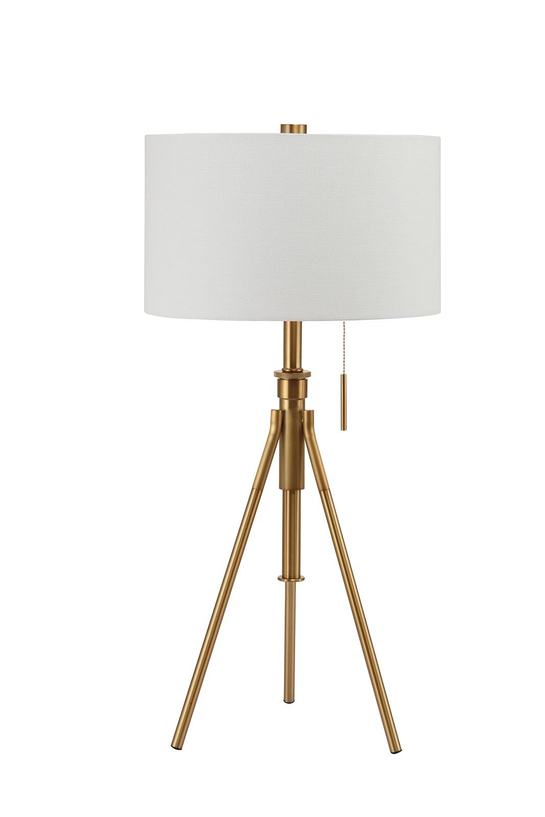 Furniture of America L731171T-GL Zaya Extendable Gold Table Lamp Miscellaneous-Others
