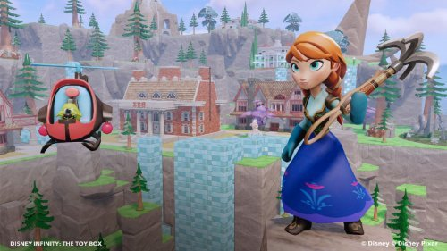 how to play 4 players on disney infinity