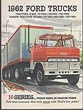 1962 Ford H-Series Truck sales brochure tractors & tandems