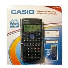 Casio Fx-300es Advanced Display Scientific Calculator (Includes 1GB USB Drive)