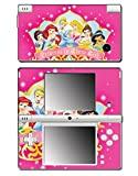 Princess Friends Pink Cinderella Snow White Ariel Jasmine Belle Sleeping Beauty Princess in Every Girl Video Game Vinyl Decal Skin Sticker Cover for Nintendo DSi System Console