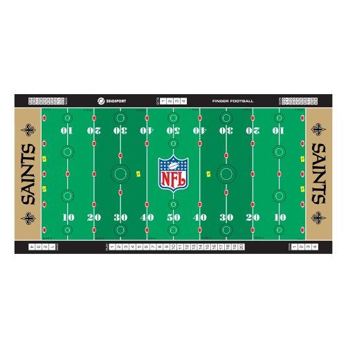 - Zelosport Boys Nfl Licensed Finger Football Game Mat(Saints Finger Football)