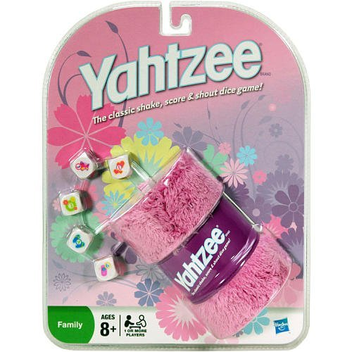 Pink Yahtzee- The Classic Shake, Score, and Shout Dice Game! by Yahtzee