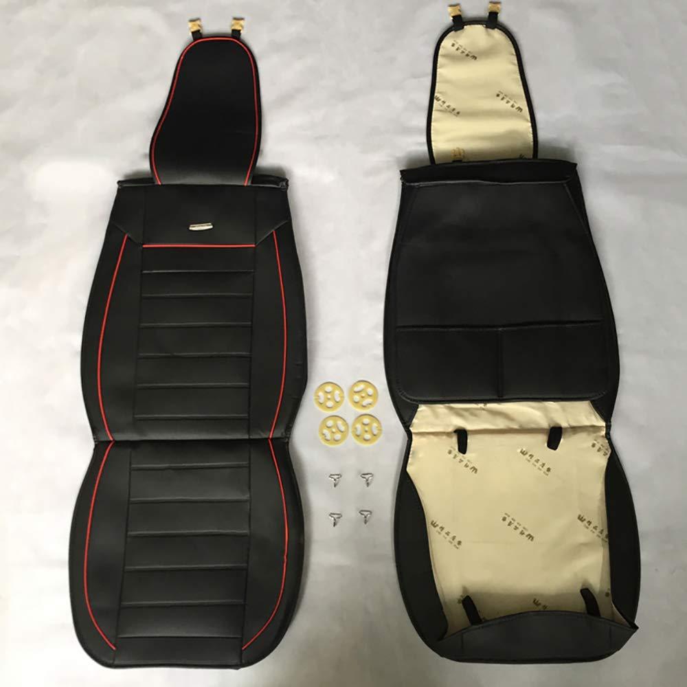 Chemu Autositzbezug Set Auto Zubeh/ör Stuhlschutzh/ülle Kissen Leder Schwarz F/ür W203 W204 W205 W211 W212 W213 W124 GLK GLC