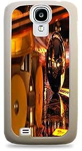Pinball Galaxy s4 White Hardshell Case