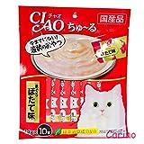 CIAO Chu ru Cat Food Lick White Meat Tuna Scallop Flavor (10 pieces / pack)