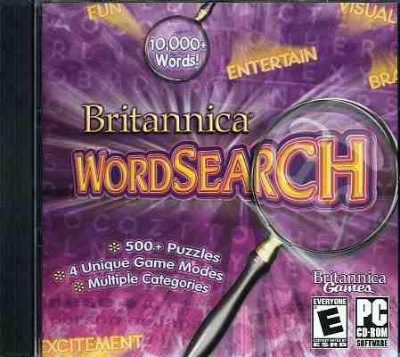 Britannica Word Search-10,000 Plus Words, 500 Plus Puzzles, 4 Unique Game Modes, Mulitiple ()