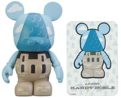 Disney Castle Carousel - WDW Castle by Randy Noble - Disney Vinylmation ~3