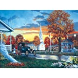 Keith Brown Hometown Thanksgiving Jigsaw Puzzle 1000pc