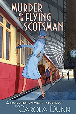 book cover of Murder on the Flying Scotsman