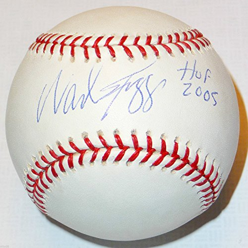 (WADE BOGGS SIGNED HALL OF FAME 2005 OML BASE BALL NY YANKEES BOSTON RED SOX RAYS)