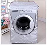 Autumn Water Wash Machine Cover Waterproof Case Home Sunscreen Laundry Dryer Polyester Silver Coating Roller Washing Machine Dust-Proof Cover