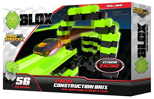 Max Traxxx Tracer Racers X-BLOX Construction Brix for Gravity Drive and Remote Control Sets by Max Traxxx