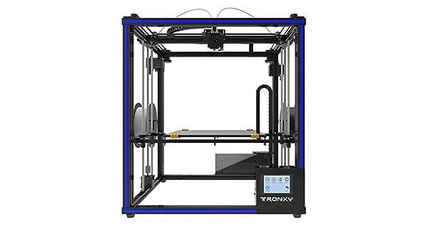 TRONXY X5ST-2E - Impresora 3D 2 en 1, juego de extrusión, sensor de filamento, cubo de impresión de resumen, cuadrado de metal con pantalla táctil de 3,5 pulgadas, formato de impresión grande