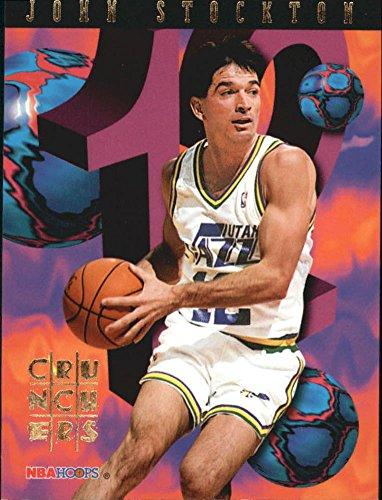 1995-96 Hoops Number Crunchers #23 John Stockton - Number Stockton