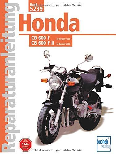 Honda CB 600 F F II Hornet Ab Baujahr 1998  Reparaturanleitungen