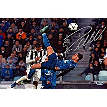 Amazon Com Cristiano Ronaldo Autograph Replica Super
