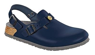 5c26172ea1006 Birkenstock Clogs ''Tokyo'' from Leather in blue 39.0 EU N