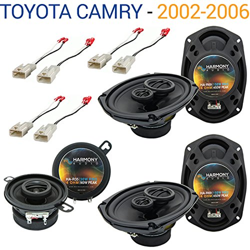 Toyota Camry 2002-2006 Factory Speaker Upgrade Harmony R69 R35 Package (2004 Upgrade Package)
