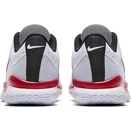 Nike Herren Air Zoom Ultra Tennisschuhe Weiß / Schwarz / Universität Rot
