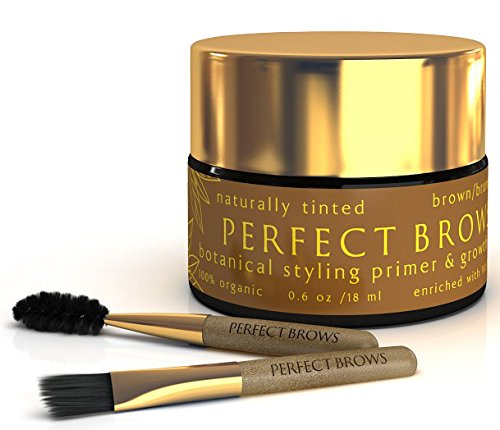 Perfect Brows (TM) 100% Botanical Styling Primer Pomade - Color Me Beautiful Color Swatches