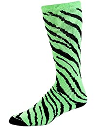 Pizzazz Knee High Animal Print Sock. Style 8090AP