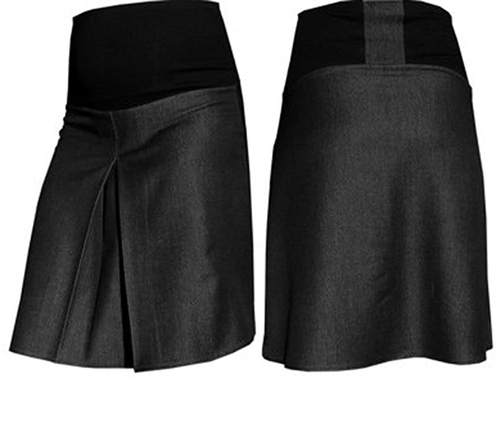Mija - Elegant double fold Smart Office Maternity Pregnancy skirt 1017