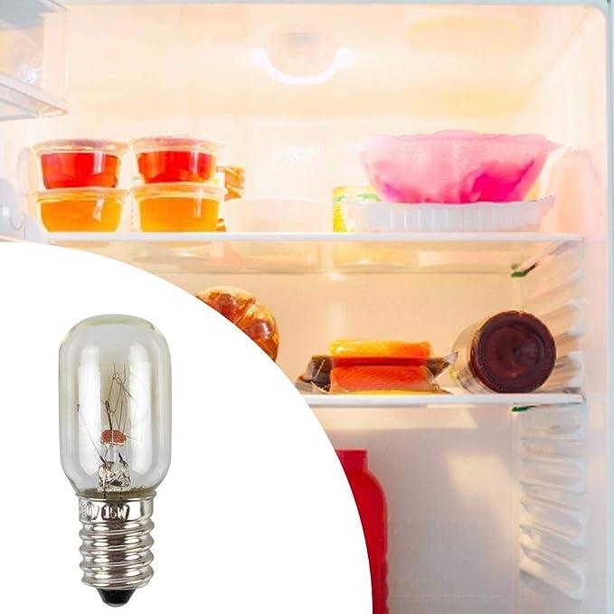 xiliary E14 220V 15W LED Refrigerador Bombilla Horno de microondas ...